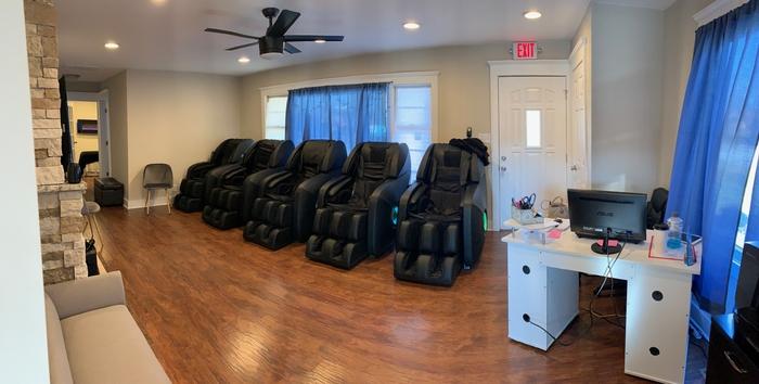 Massage Fishers Lobby